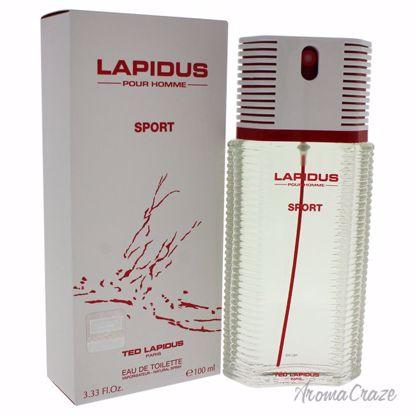 Lapidus By Ted Lapidus Pour Homme Sport EDT Spray for Men 3.