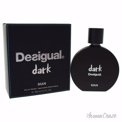 Desigual Dark EDT Spray for Men 3.4 oz