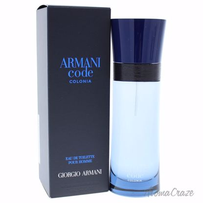 Armani by Giorgio Armani Code Colonia EDT Spray for Men 2.5