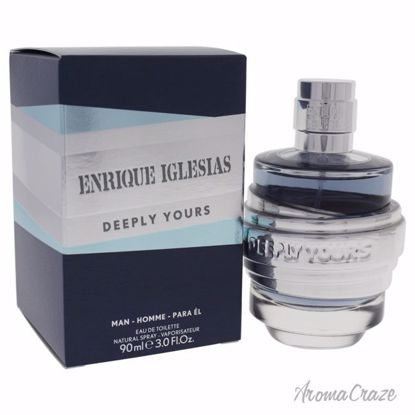 Enrique Iglesias Deeply Yours EDT Spray for Men 3 oz