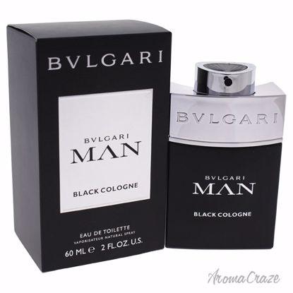 Bvlgari Man Black Cologne EDT Spray for Men 2 oz