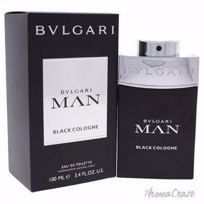 Bvlgari Man Black Cologne EDT Spray for Men 3.4 oz