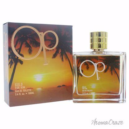 Ocean Pacific Op Gold EDT Spray for Men 3.4 oz