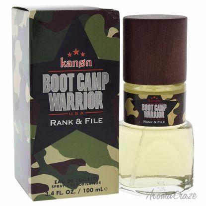 Kanon Boot Camp Warrior Rank & File EDT Spray for Men 3.4 oz