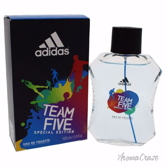 Adidas Team Five Special Edition Cologne 3.4 oz EDT Spray