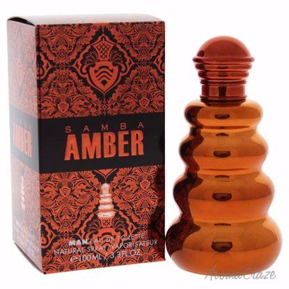 Perfumer's Workshop Samba Amber EDT Spray for Men 3.3 oz