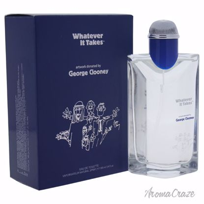 Whatever It Takes George Clooney EDT Spray for Men 3.4 oz