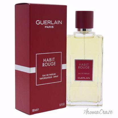 Guerlain Habit Rouge EDP Spray for Men 3.3 oz