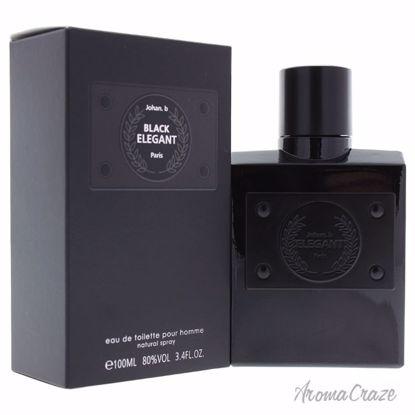 Johan B Black Elegant EDT Spray for Men 3.4 oz