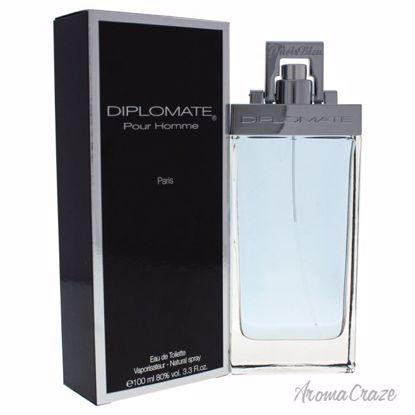 Paris Bleu Diplomate Pour Homme EDT Spray for Men 3.3 oz