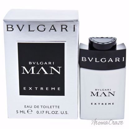 Bvlgari Man Extreme EDT Splash (Mini) for Men 0.17 oz