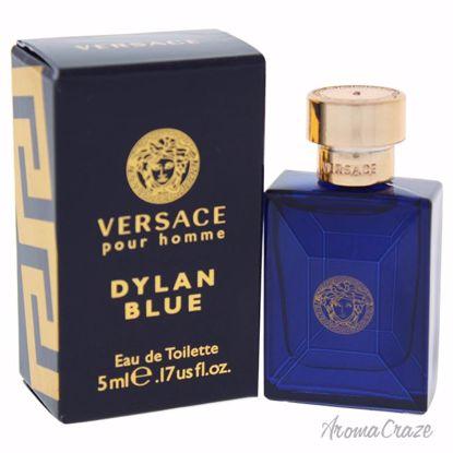 Versace Dylan Blue EDT Splash (Mini) for Men 0.17 oz