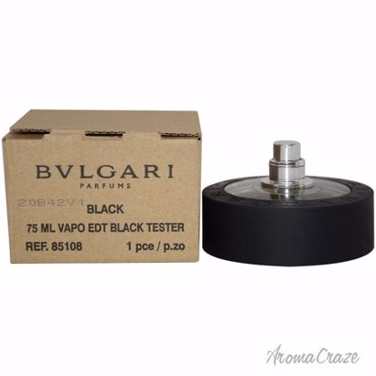 Bvlgari Black EDT Spray (Tester) for Men 2.5 oz
