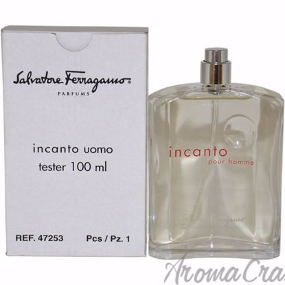 Salvatore Ferragamo Incanto EDT Spray (TESTER) for Men 3.4 o