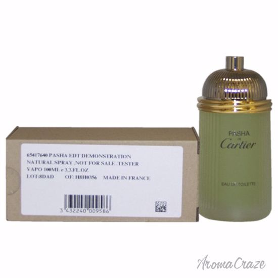 292622ebb94 Cartier Pasha De Cartier EDT Spray (Tester) for Men 3.3 oz ...