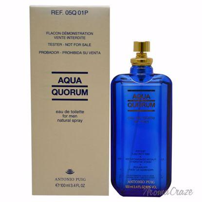 Antonio Puig Aqua Quorum EDT Spray (Tester) for Men 3.4 oz