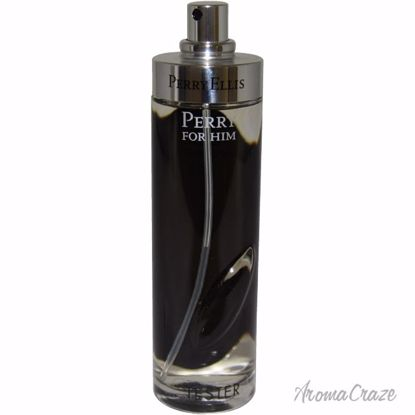 Perry by Perry Ellis Black EDT Spray (Tester) for Men 3.4 oz