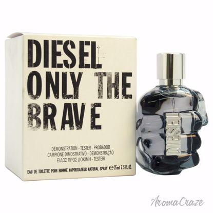 Diesel Only The Brave EDT Spray (Tester) for Men 2.5 oz