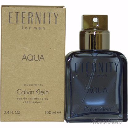 Calvin Klein Eternity Aqua EDT Spray (Tester) for Men 3.4 oz