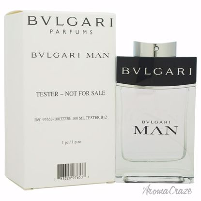 Bvlgari Man EDT Spray (Tester) for Men 3.4 oz