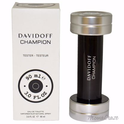Davidoff Davidoff Champion EDT Spray (Tester) for Men 3 oz