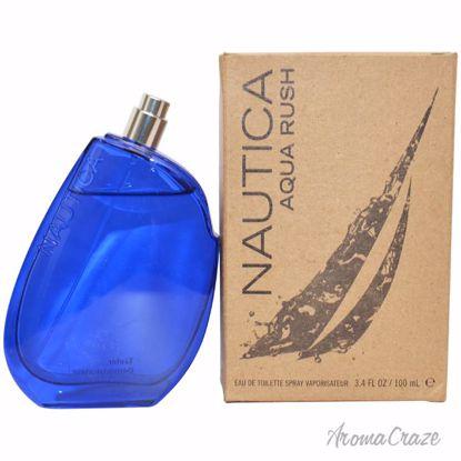 Nautica Aqua Rush EDT Spray (Tester) for Men 3.4 oz