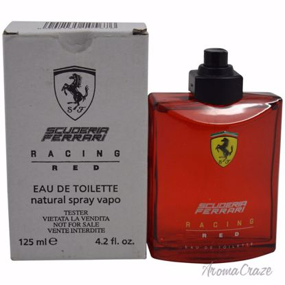 Ferrari Scuderia Racing Red EDT Spray (Tester) for Men 4.2 o