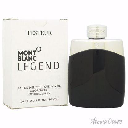 Mont Blanc Legend EDT Spray (Tester) for Men 3.3 oz