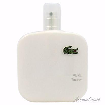 Eau De Lacoste L.12.12 Blanc EDT Spray (Tester) for Men 3.3