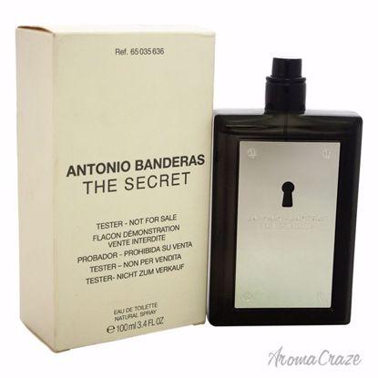 Antonio Banderas The Secret EDT Spray (Tester) for Men 3.4 o