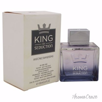 Antonio Banderas King of Seduction EDT Spray (Tester) for Me