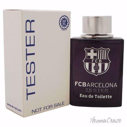 FC Barcelona FC Barcelona Black EDT Spray (Tester) for Men 3