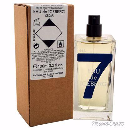 Eau de Iceberg Cedar EDT Spray (Tester) for Men 3.3 oz