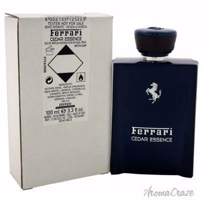 Ferrari Cedar Essence EDP Spray (Tester) for Men 3.3 oz