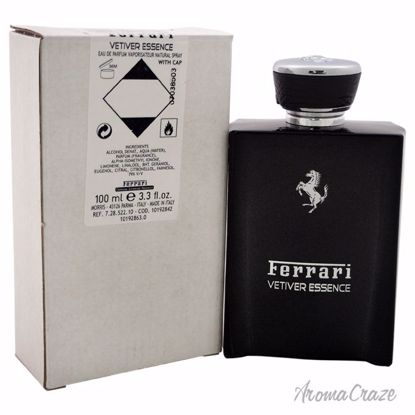 Ferrari Vetiver Essence EDP Spray (Tester) for Men 3.3 oz