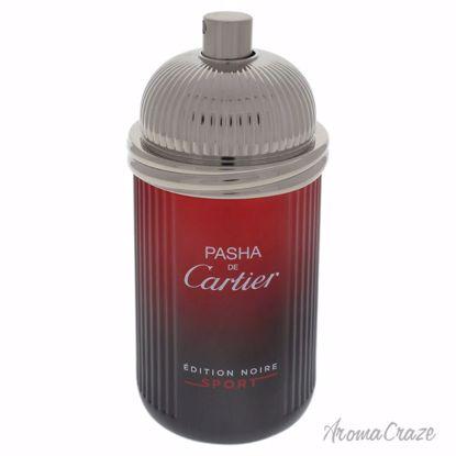 Cartier Pasha De Cartier Edition Noire Sport EDT Spray ( Tes