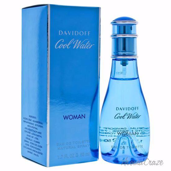 Zino Davidoff Cool Water EDT Spray for Women 1.7 oz