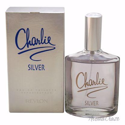 Revlon Charlie Silver EDT Spray for Women 3.4 oz