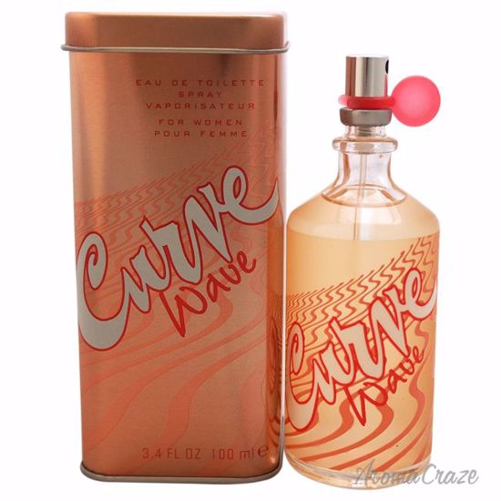 Liz Claiborne Curve Wave EDT Spray for Women 3.4 oz