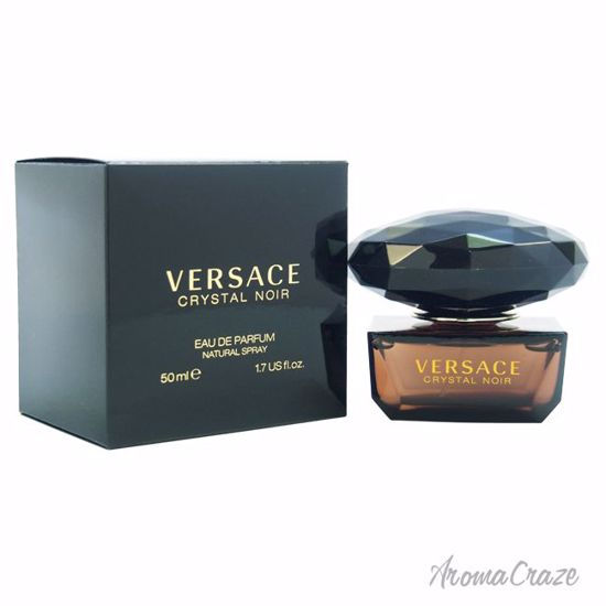 Versace Crystal Noir Edp Spray For Women 17 Oz Aromacrazecom