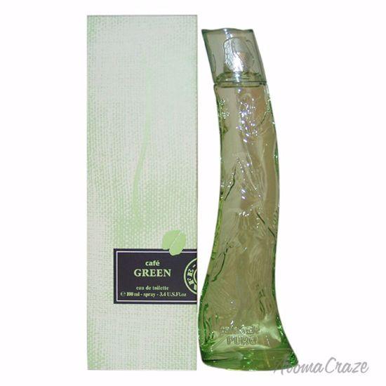 Cofinluxe Cafe Green EDT Spray for Women 3.4 oz