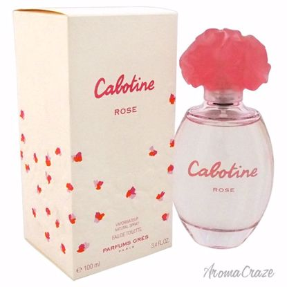 Gres Cabotine Rose EDT Spray for Women 3.4 oz