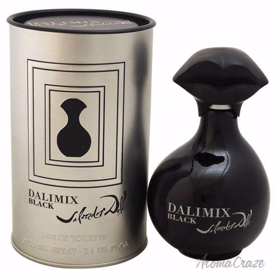 Salvador Dali Dalimix Black EDT Spray for Women 3.4 oz