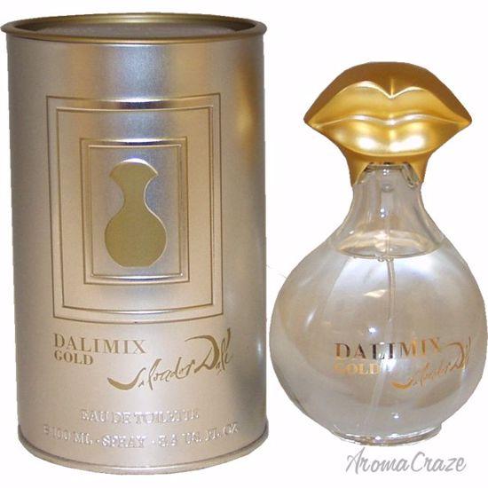 Salvador Dali Dalimix Gold EDT Spray for Women 3.4 oz