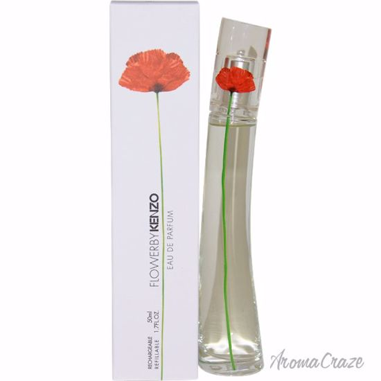 Kenzo Flower EDP Spray (Rechargeable) for Women 1.7 oz