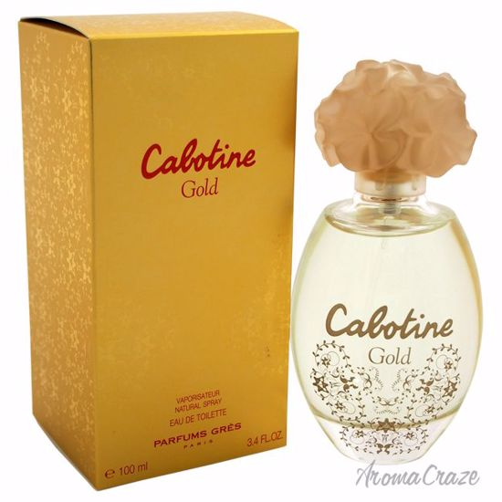 Gres Cabotine Gold EDT Spray for Women 3.4 oz