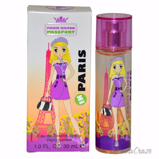 Paris Hilton Passport Paris EDT Spray for Women 1 oz