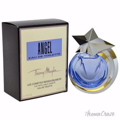 Thierry Mugler Angel EDT Spray (Refillable) for Women 1.4 oz