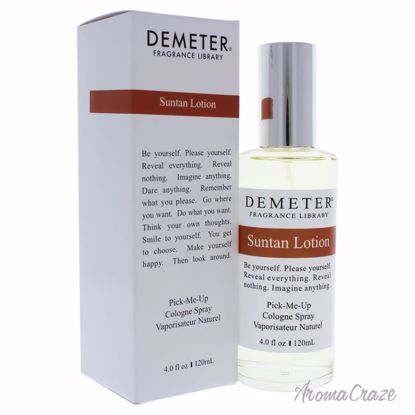 Demeter Suntan Lotion Cologne Spray for Women 4 oz