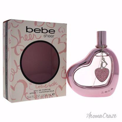Bebe Sheer EDP Spray for Women 3.4 oz